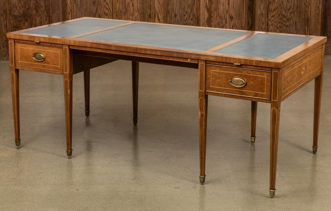 Alex Stuart Design Leather Top Desk
