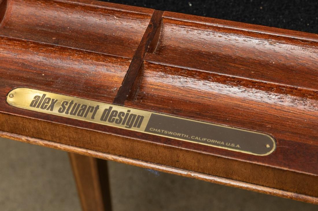 Alex Stuart Design Leather Top Desk - 4