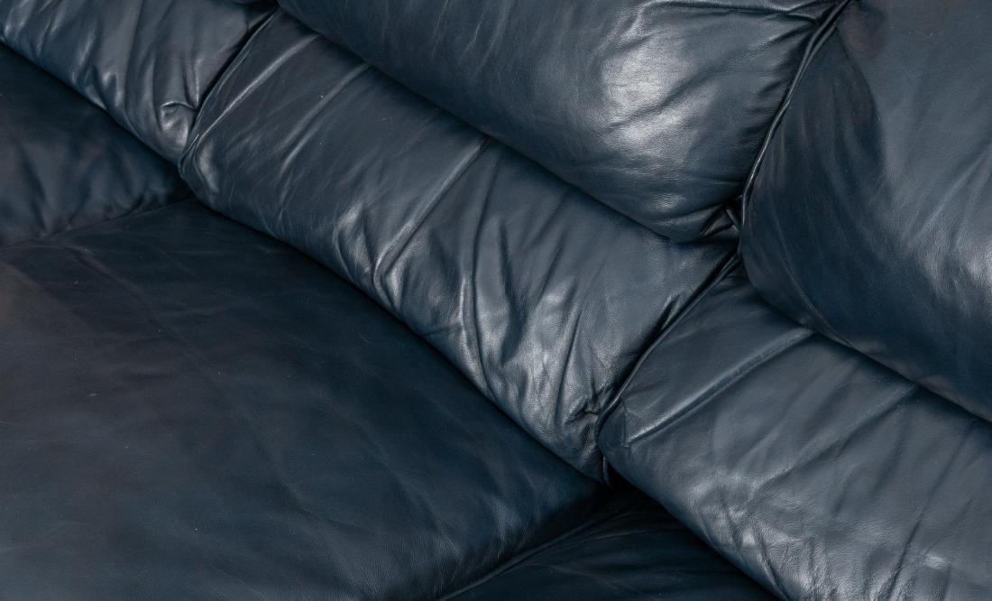 Hancock and Moore Leather Sofa - 3