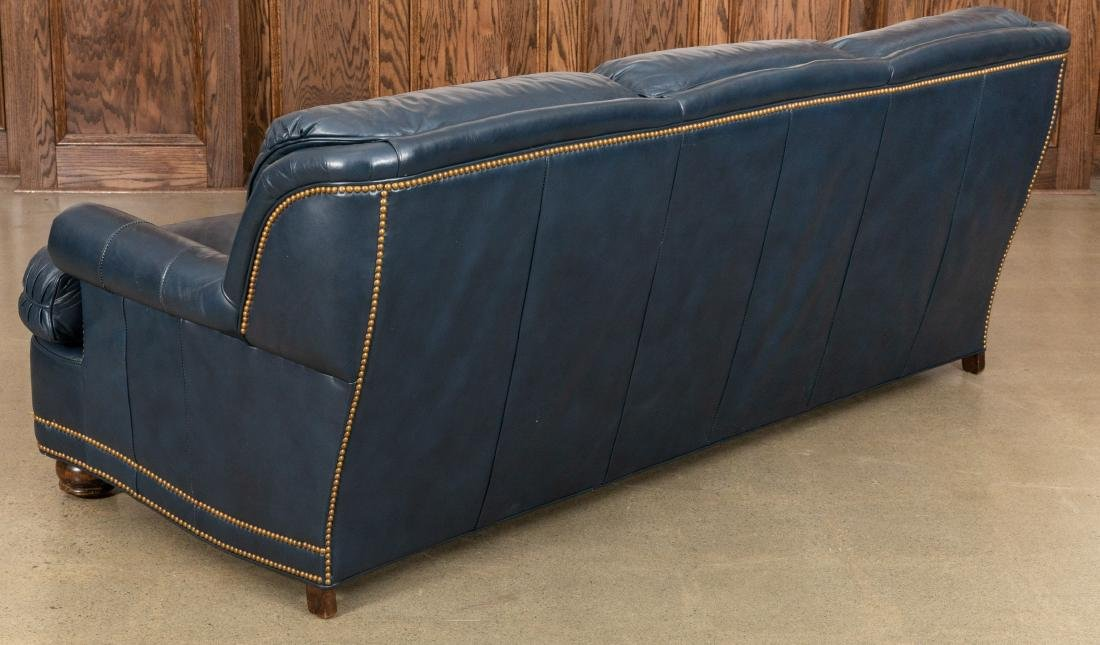 Hancock and Moore Leather Sofa - 5