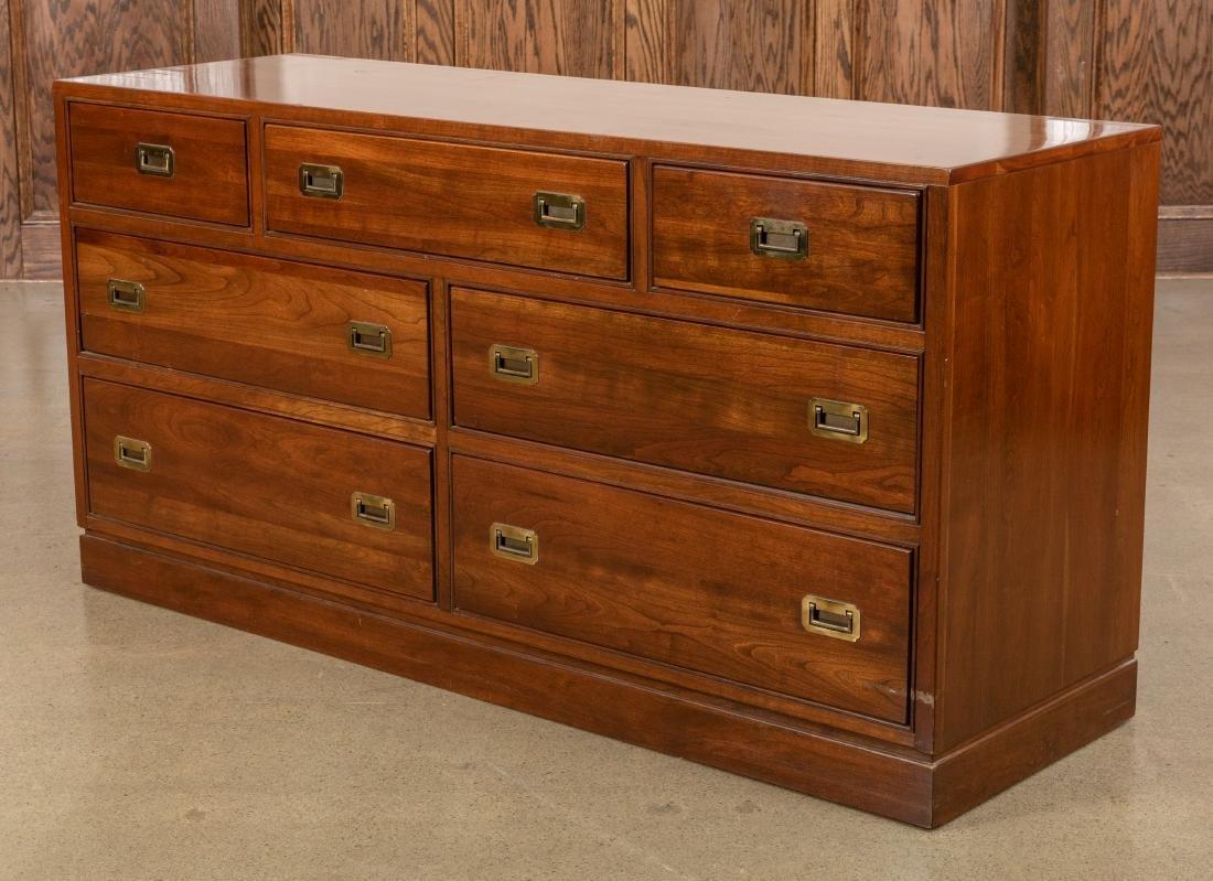 Ethan Allen Campaign Style Double Dresser