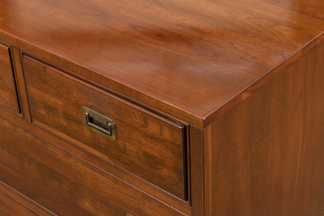 Ethan Allen Campaign Style Double Dresser - 2