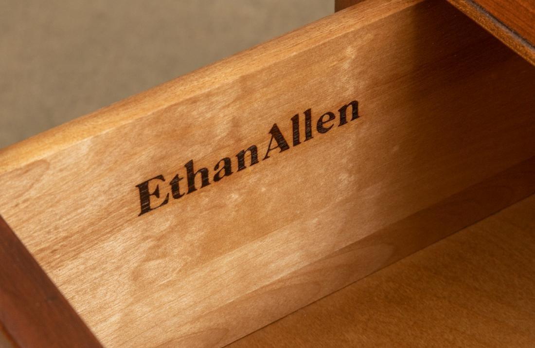 Ethan Allen Campaign Style Double Dresser - 4