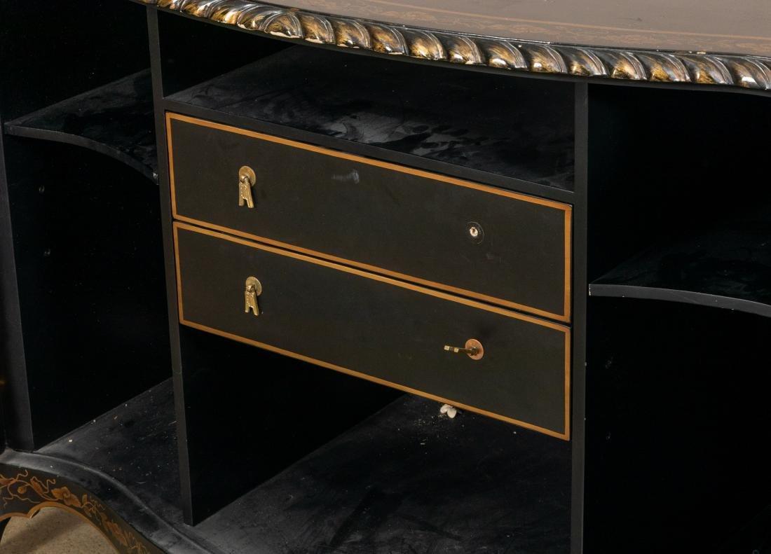Painted Oriental Motif Server - 4