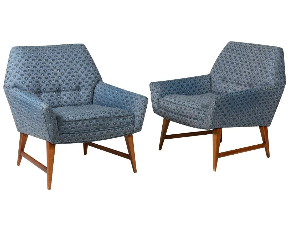 Danish Teak Lounge Chairs