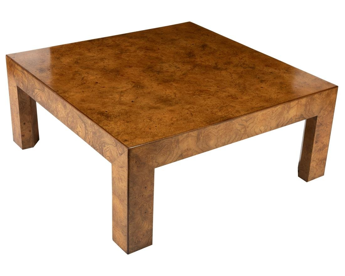 John Widdicomb - Burl Coffee Table