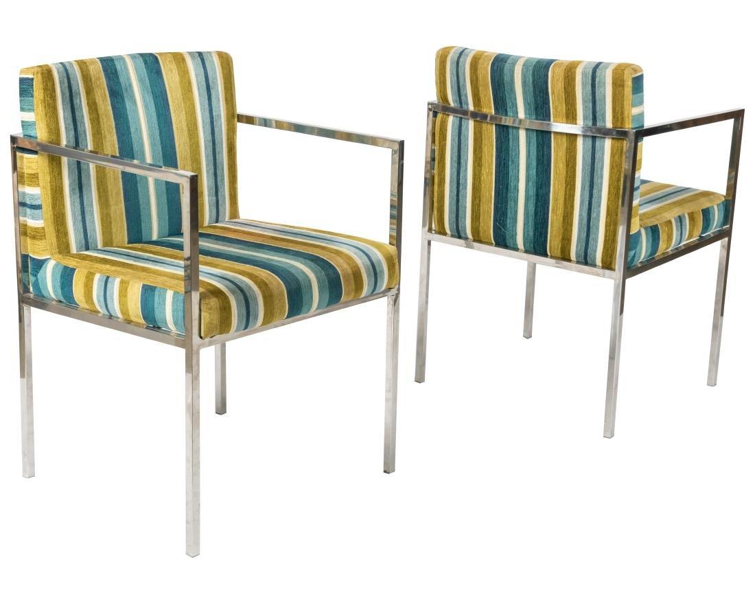 Chrome Arm Chairs