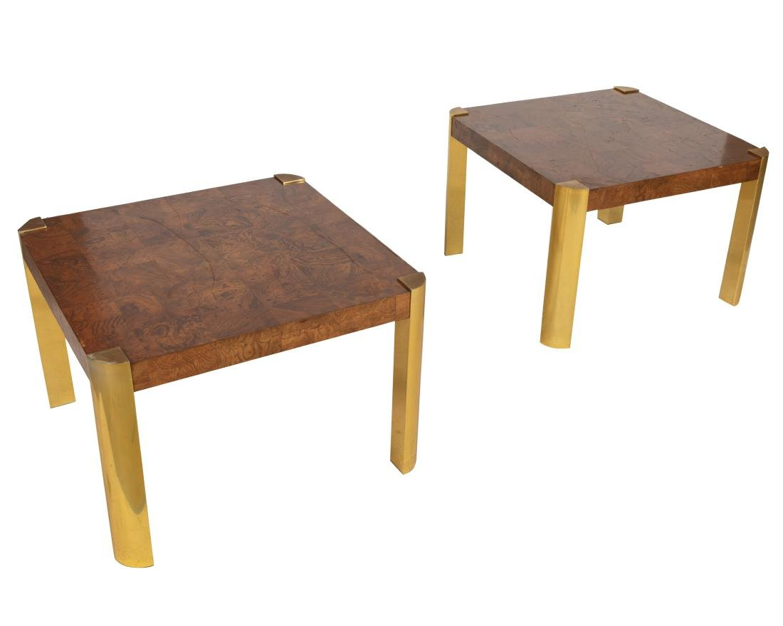 Burl End Tables - Manor of Mastercraft