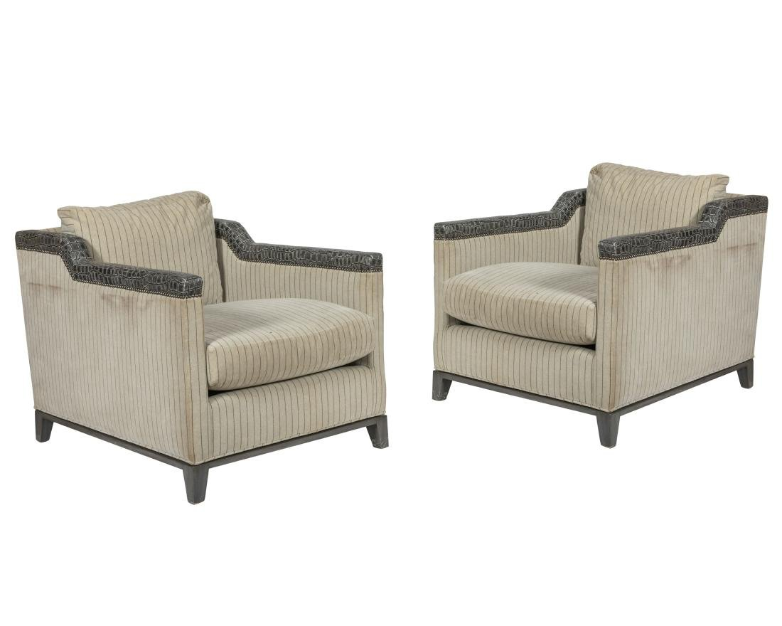 Michael Weiss Design - Club Chairs