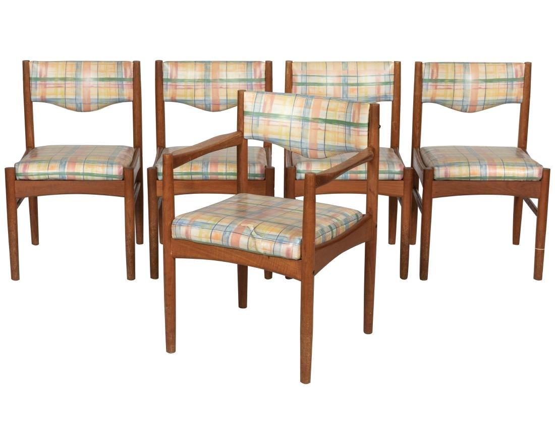 Danish Style Teak Dining Chairs