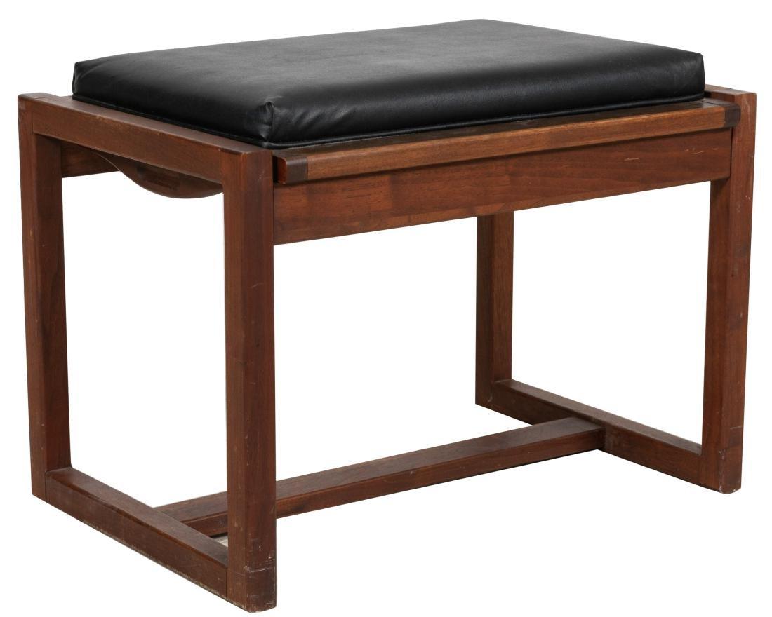 Convertible Walnut Tray Table