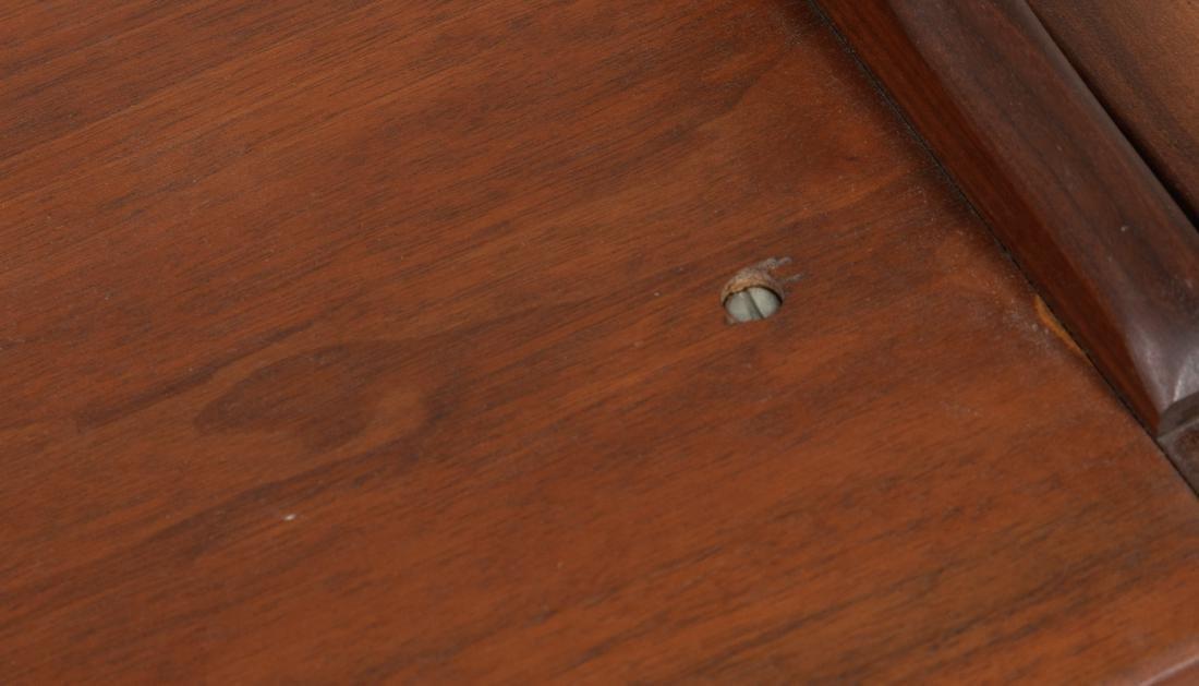 Convertible Walnut Tray Table - 3