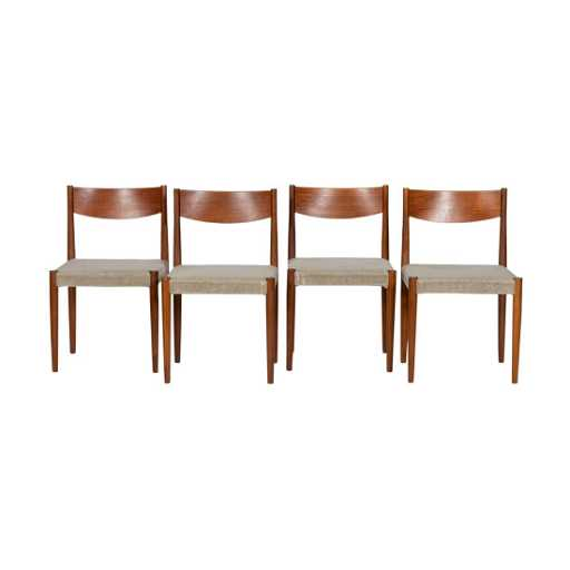 Poul Volther Frem Rojle Dining Chairs 6 Placeholder