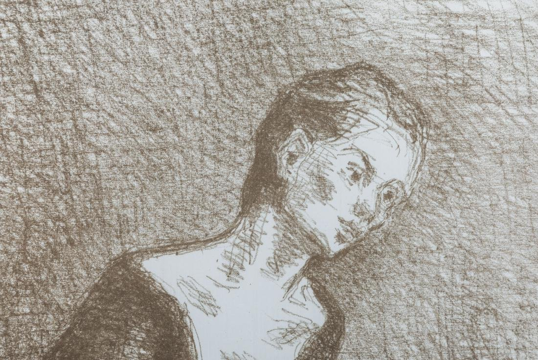 Moses Soyer - Lithograph - 2