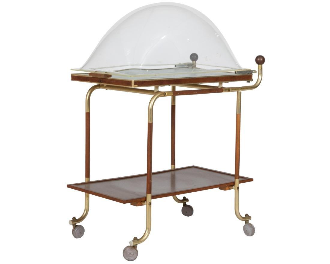Hot Tray Serving Cart
