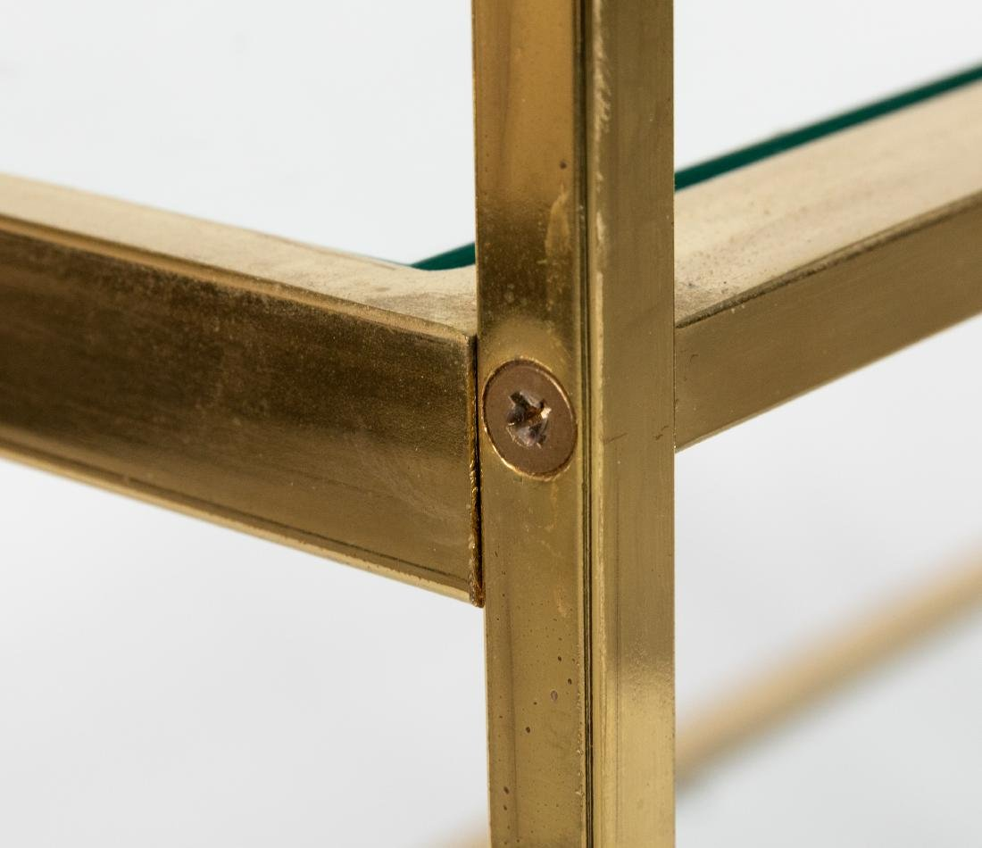 Brass and Glass Etagere - 2