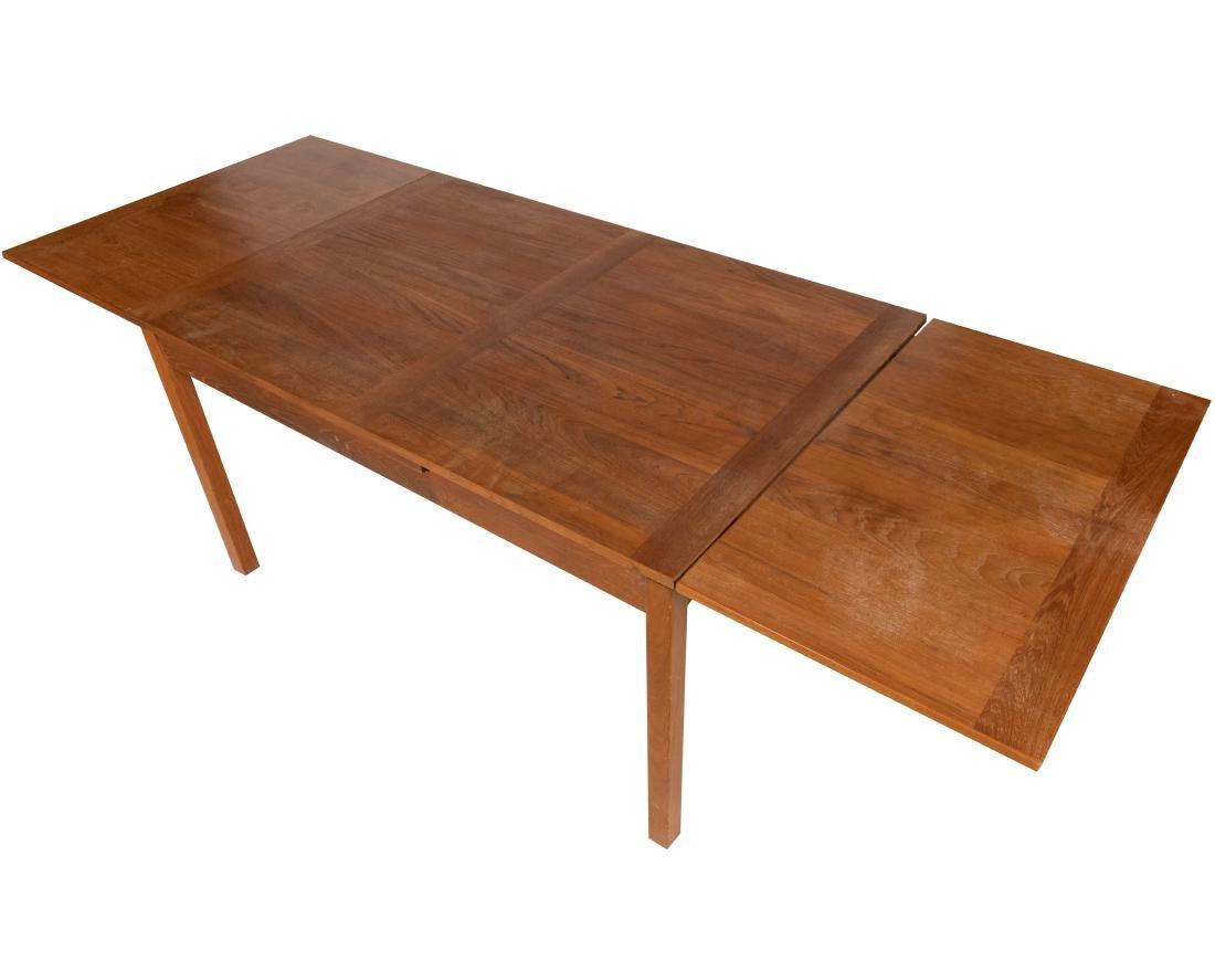 Teak Refectory Dining Table - 2
