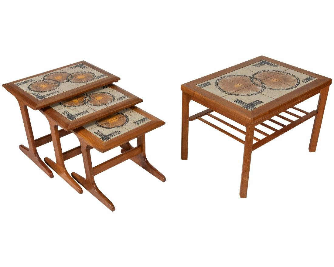 Nest of 3 Tables and End Table