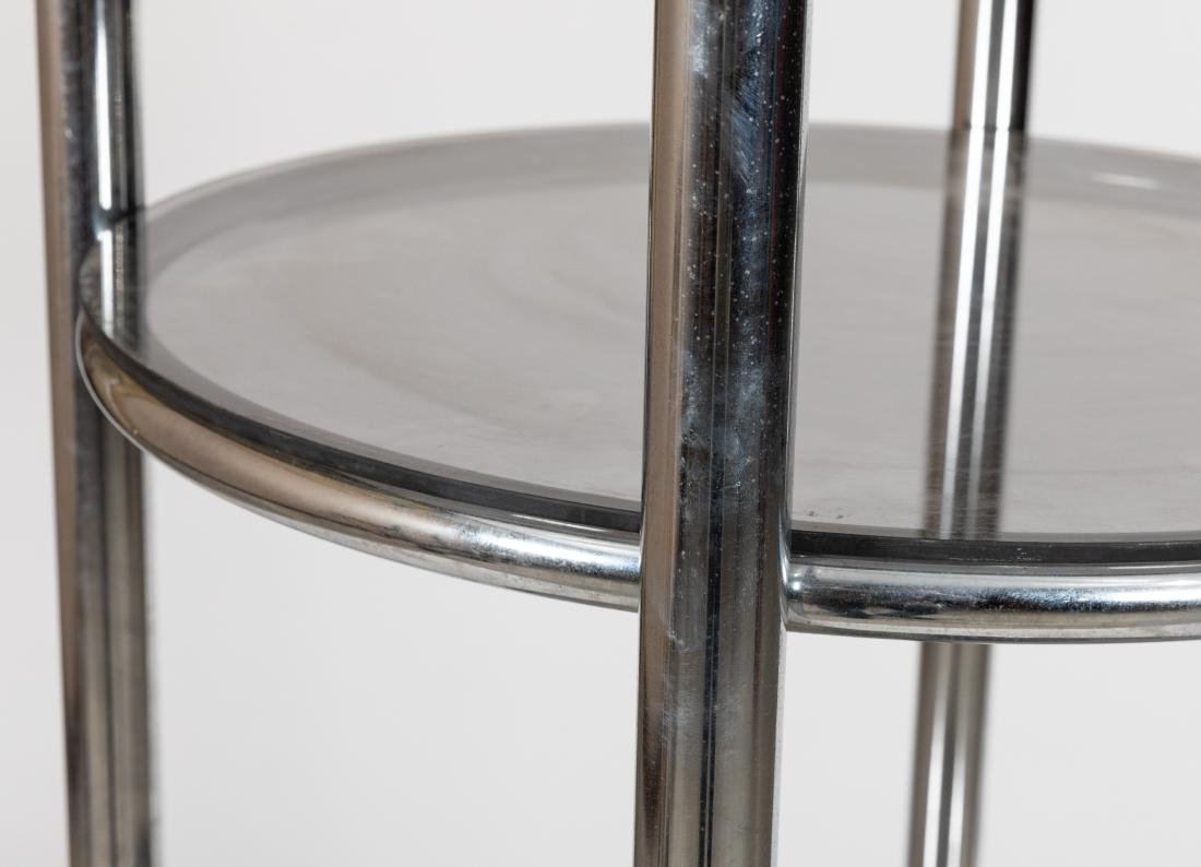 Chrome Round Etagere - 2