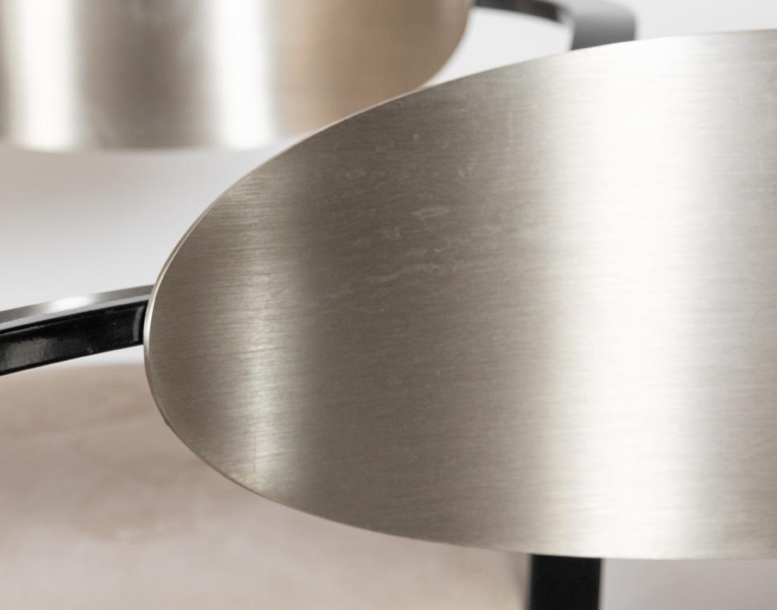 Set of 5 Steel Stools - 2