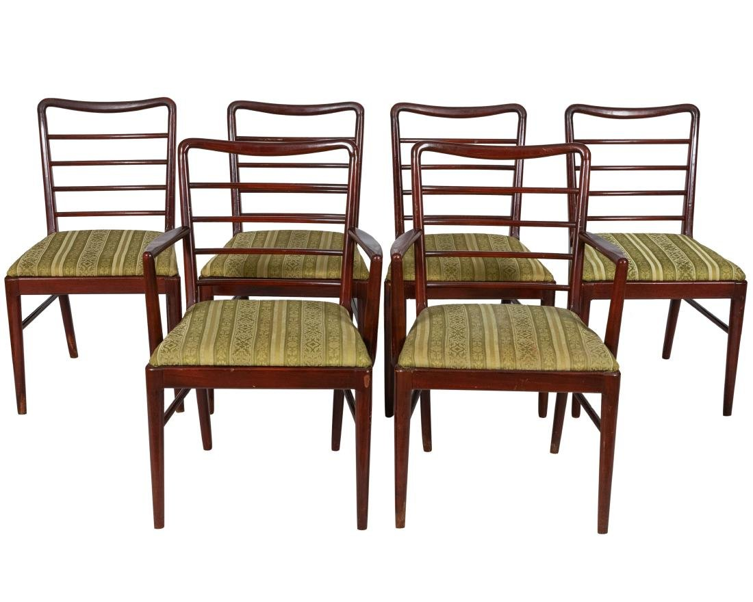 Mahogany Dining Chairs - 6