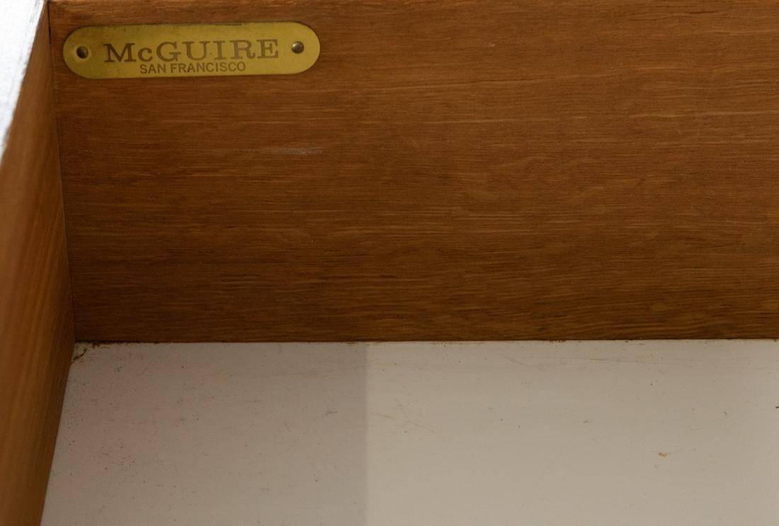McGuire Faux Bamboo Desk - 3