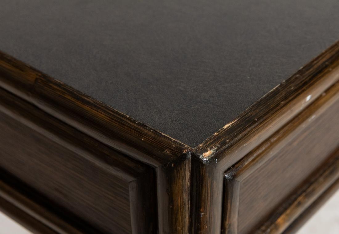 McGuire Faux Bamboo Desk - 4