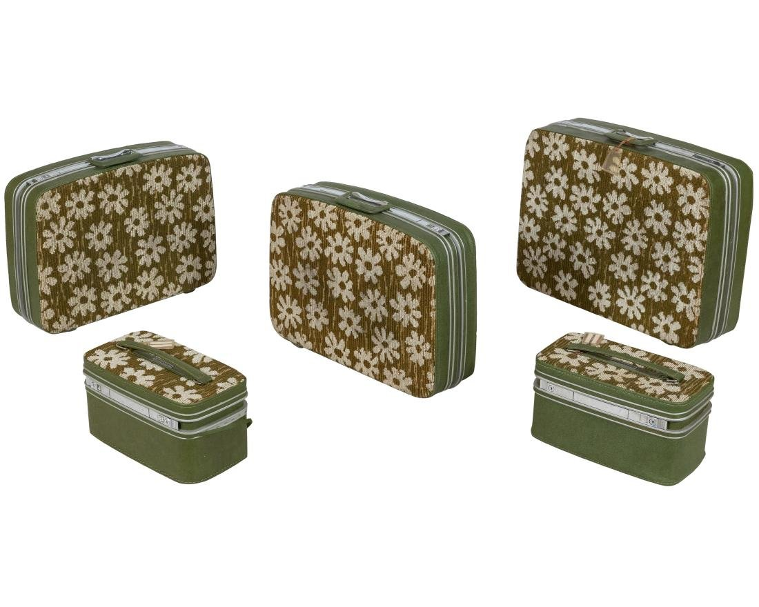 "Samsonite - ""Flower Power"" Luggage Set"