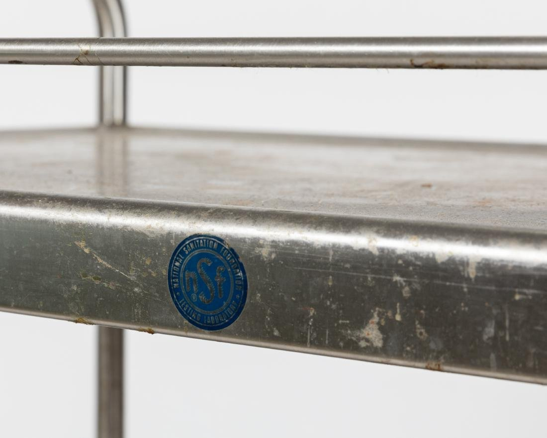 Industrial Stainless Steel Cart - 2