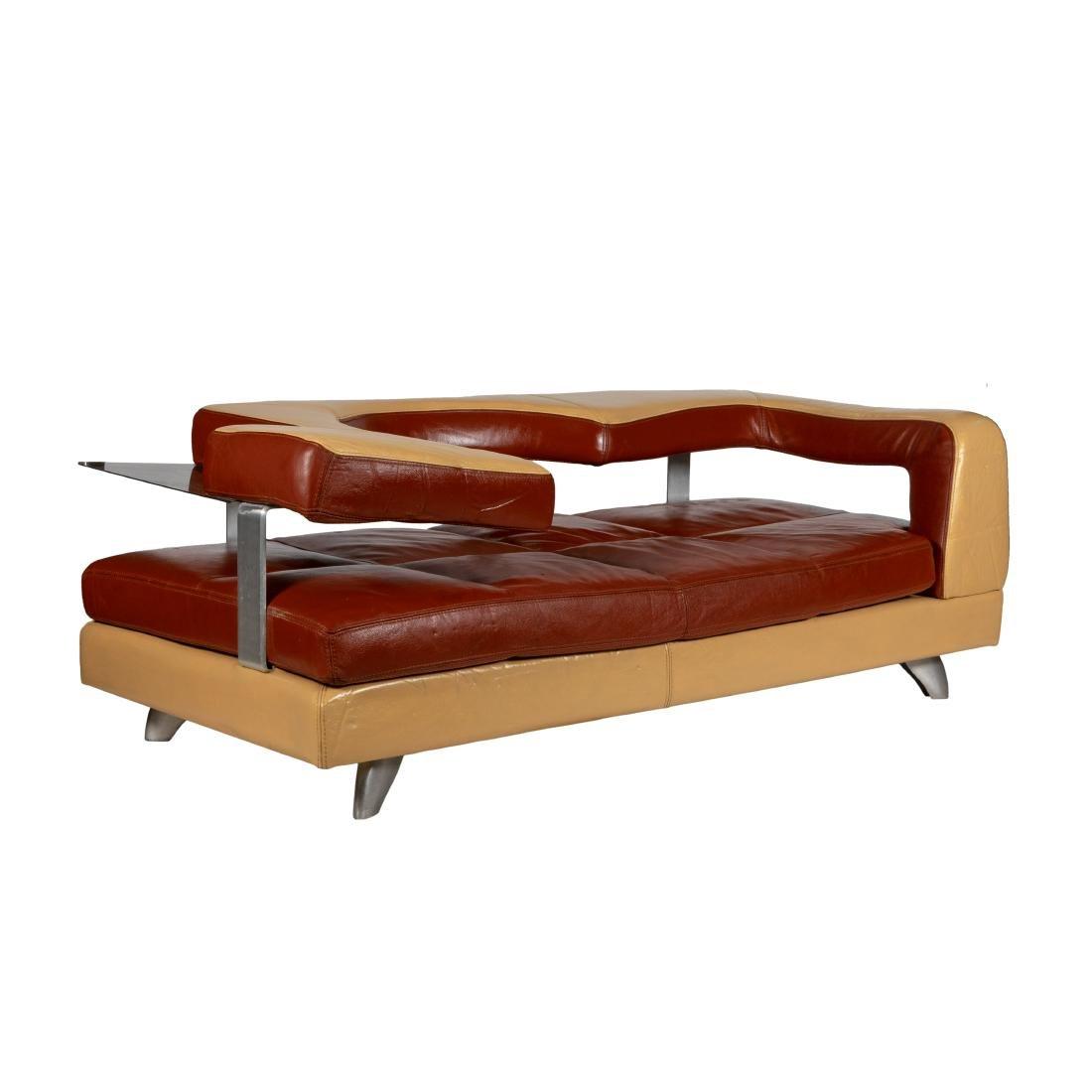 Interni - Leather Modern Sofa