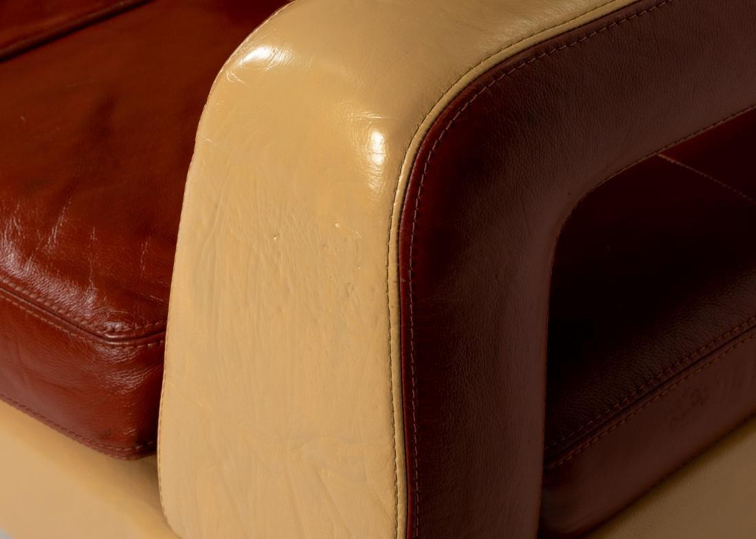 Interni - Leather Modern Sofa - 3