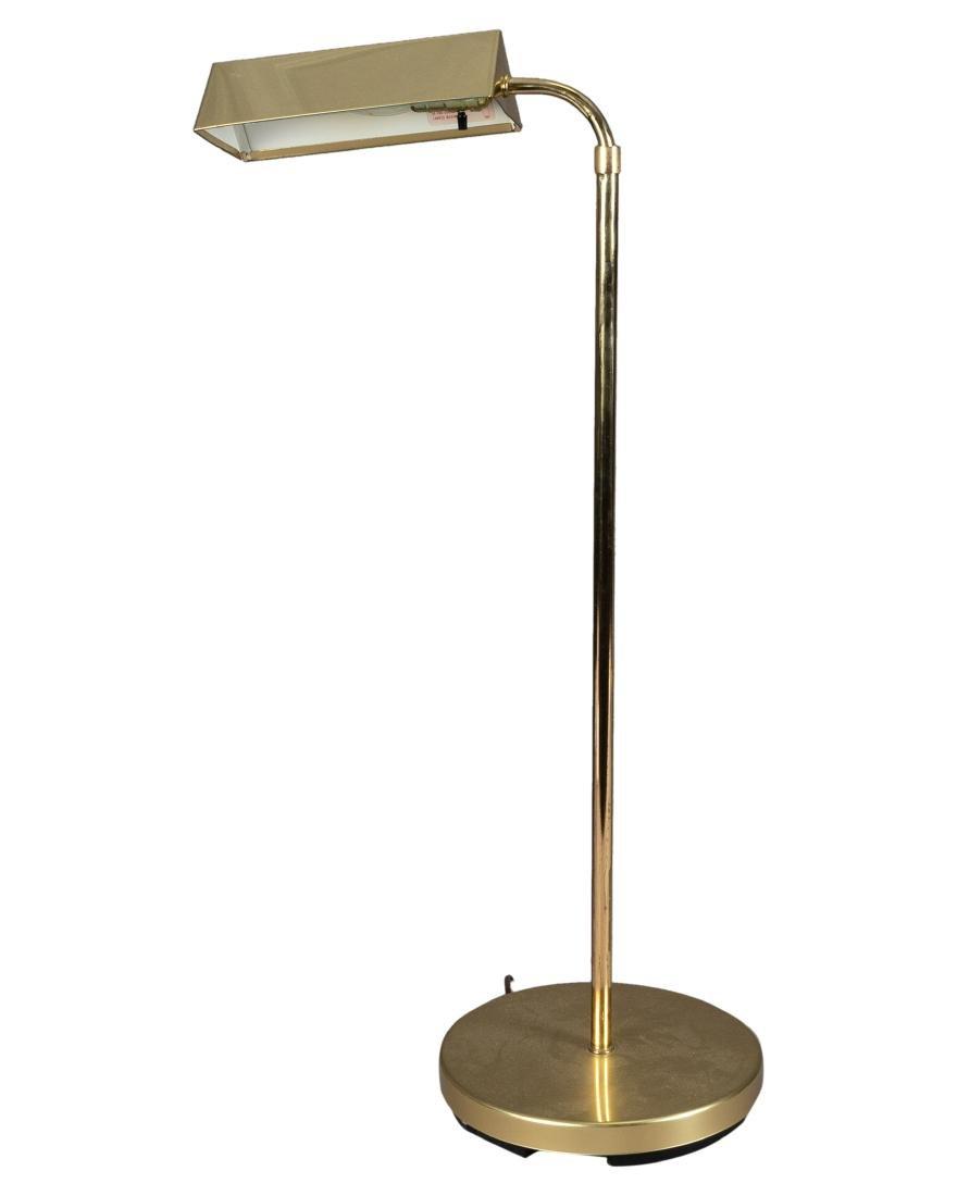 Brass Adjustable Floor Lamp