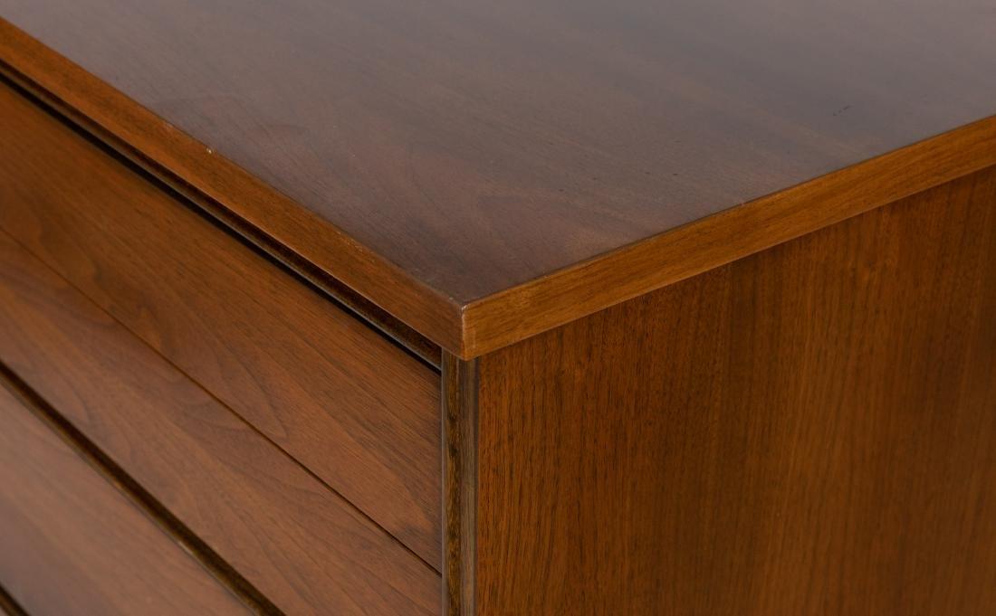 Walnut High Chest Dresser - 2
