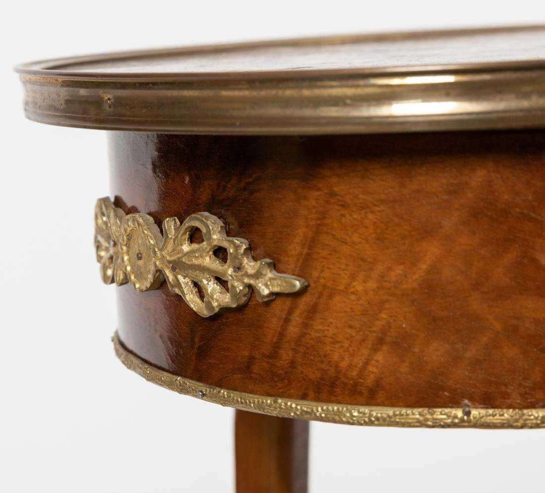 French Style Kidney End Table - 5