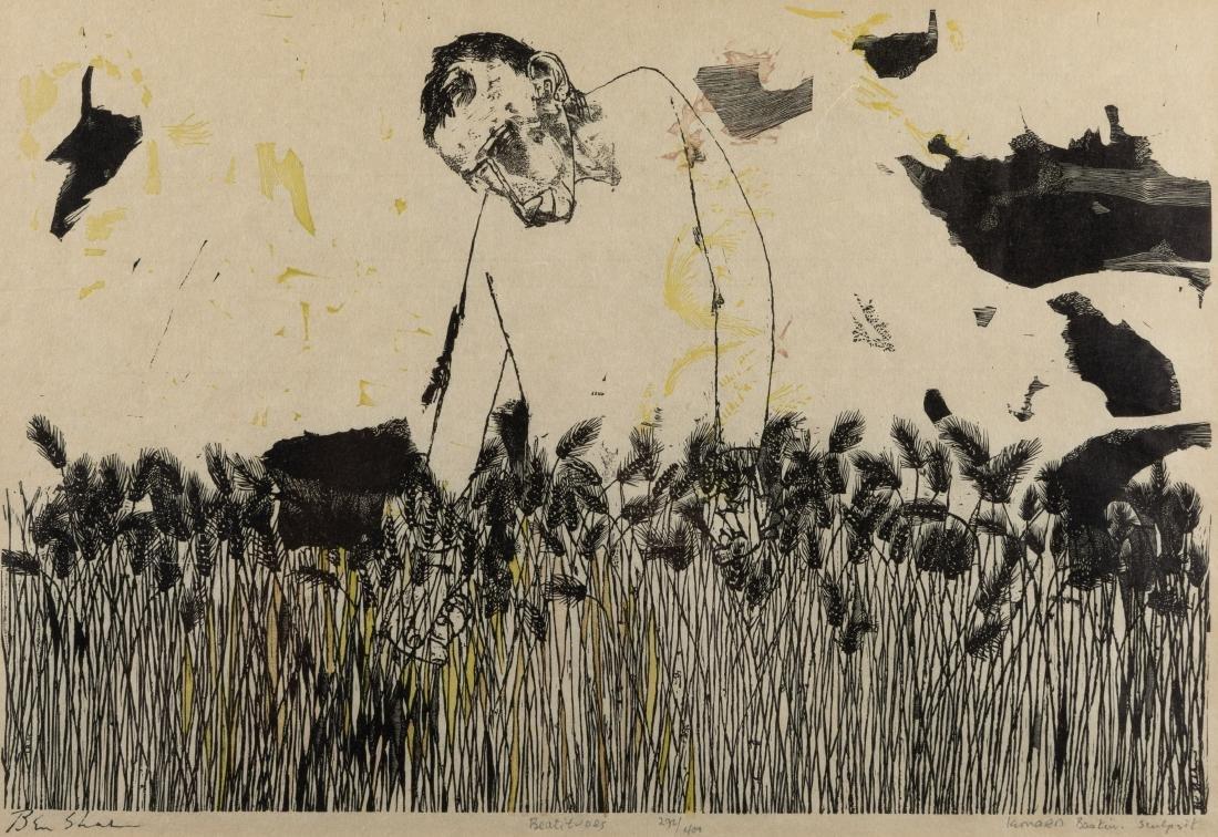Leonard Baskin & Ben Shan - Etching - 2
