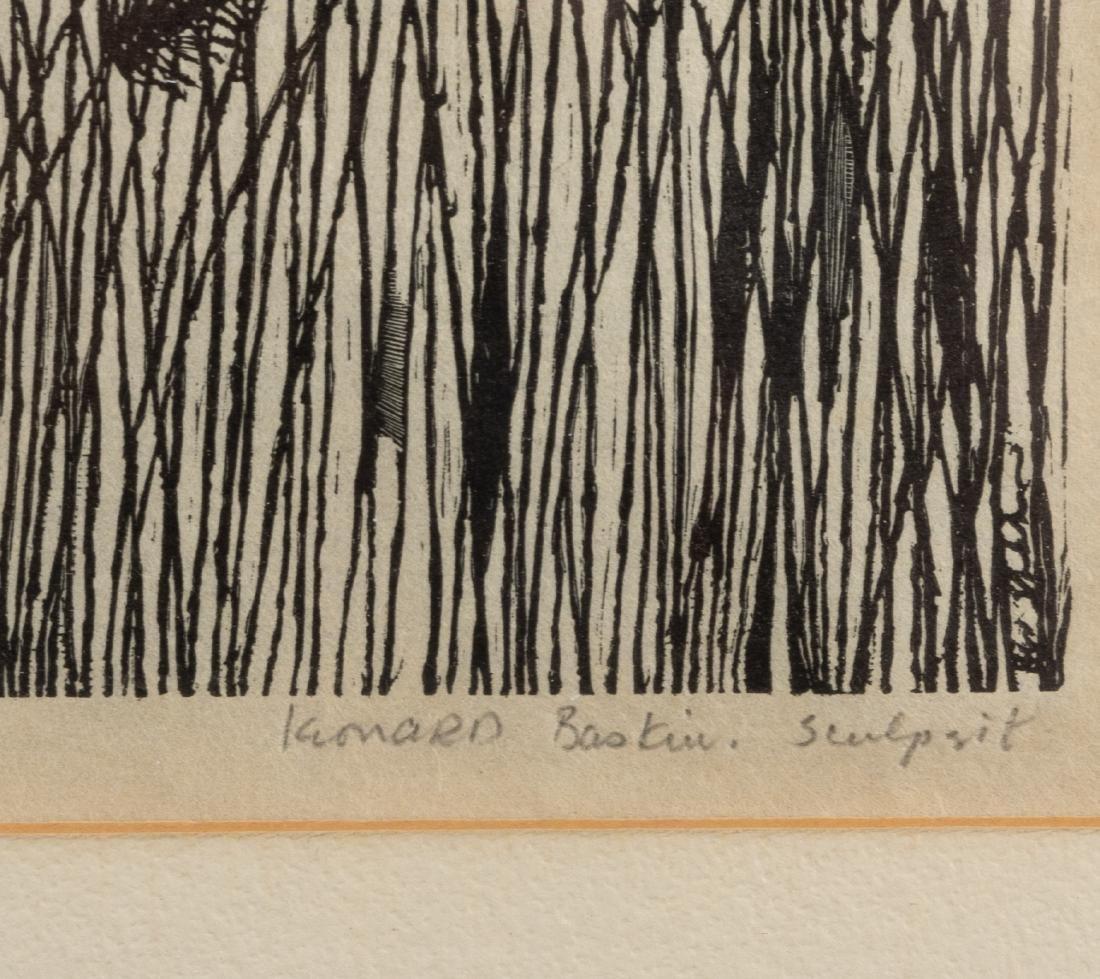 Leonard Baskin & Ben Shan - Etching - 3