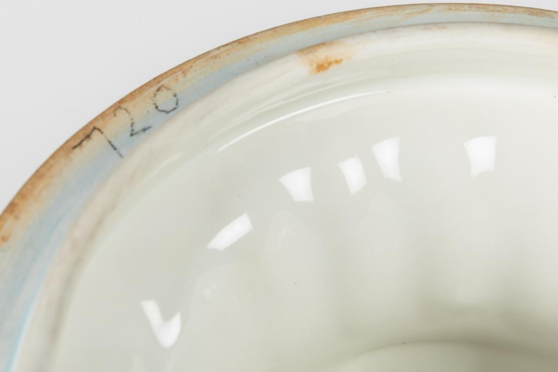 Dresden Porcelain Covered Urns - 7