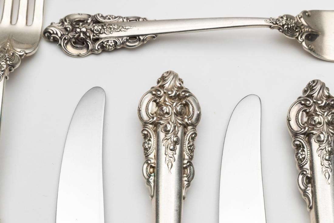 Wallace Grand Baroque Flatware Set - 55 Pieces - 4