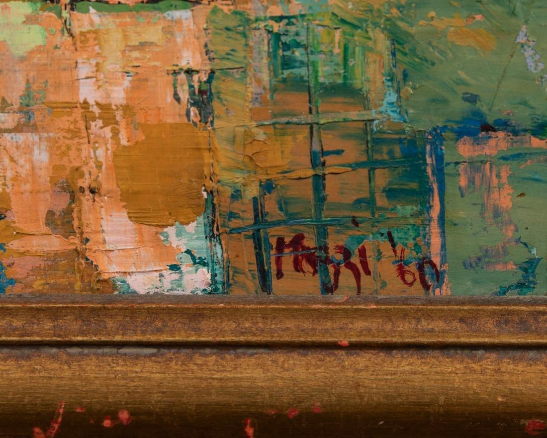 Oil on Canvas - Palette Knife -  Eiffel Tower - 3