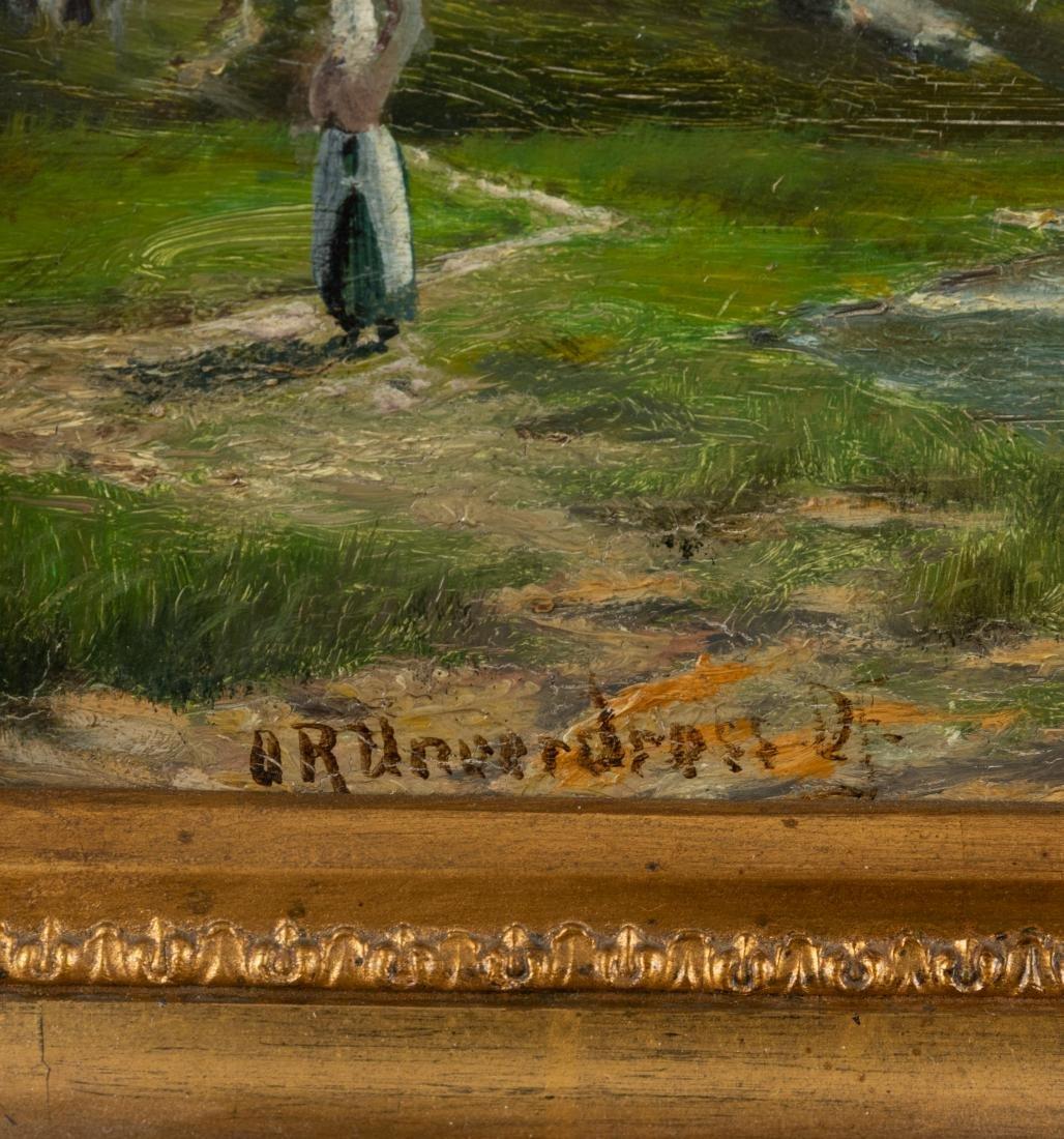 After Raphael Oskar Unverdross  - Oil on Board - 5