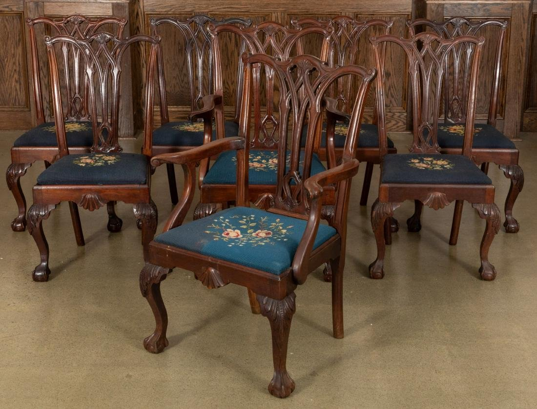 Centennial Chippendale Style Dining Chairs