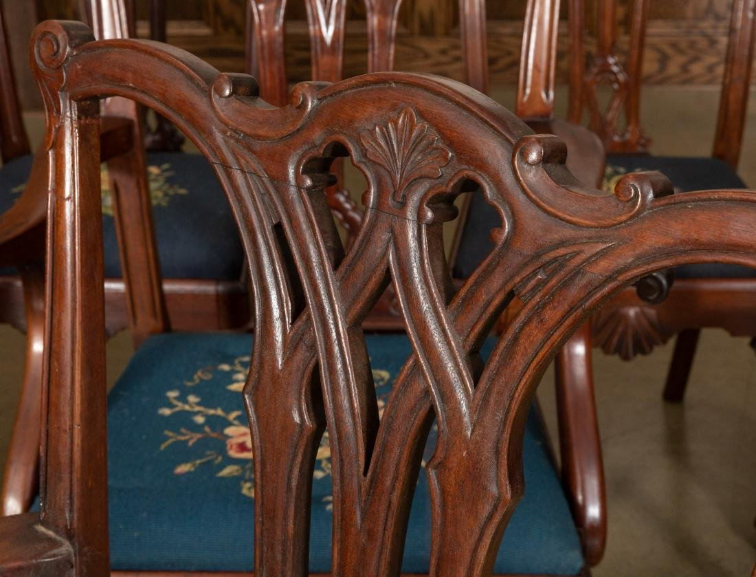 Centennial Chippendale Style Dining Chairs - 3