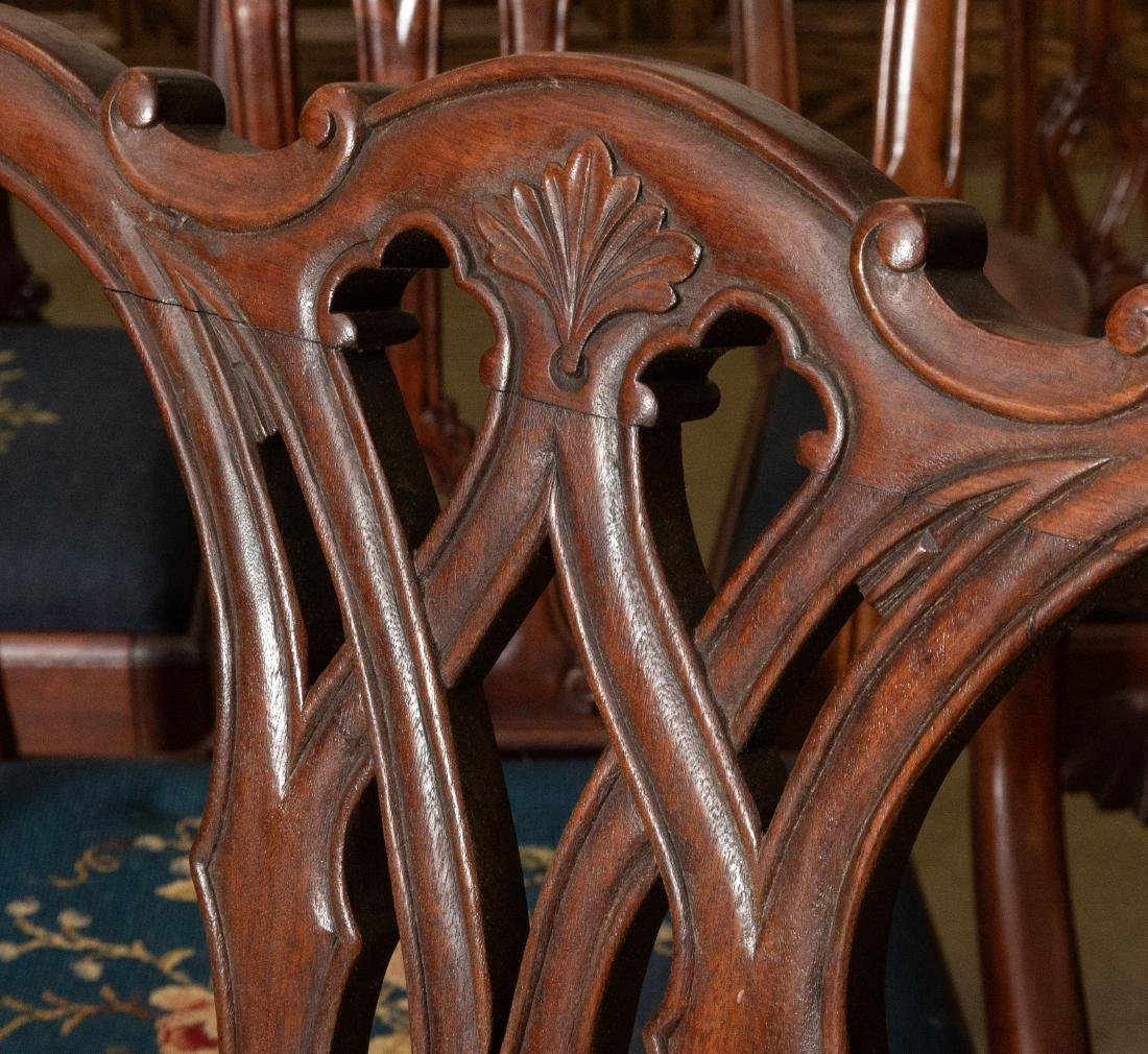 Centennial Chippendale Style Dining Chairs - 4
