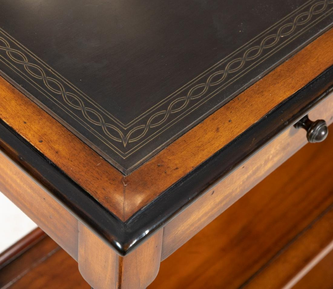 Mahogany Barley Twist Console Table - 2