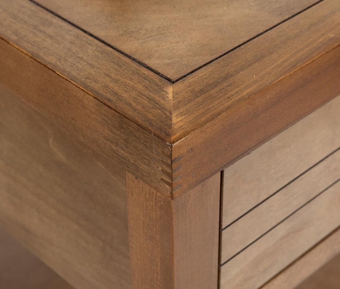 Server - Brass Shelf - Two End Tables - 2