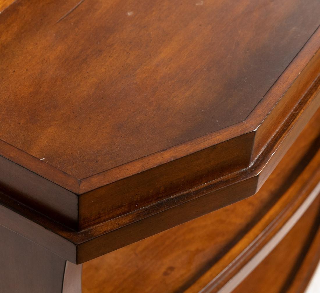 Server - Brass Shelf - Two End Tables - 3