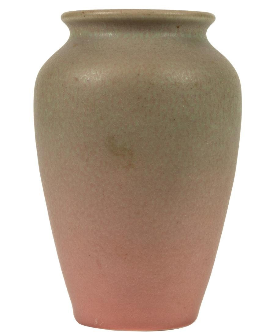 Rookwood Pink to Green Vase