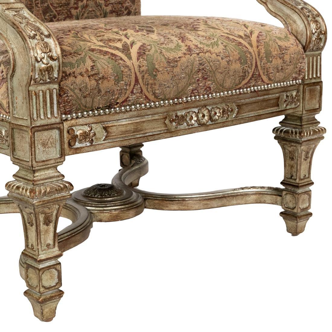 Silver Leaf Arm Chair - 2