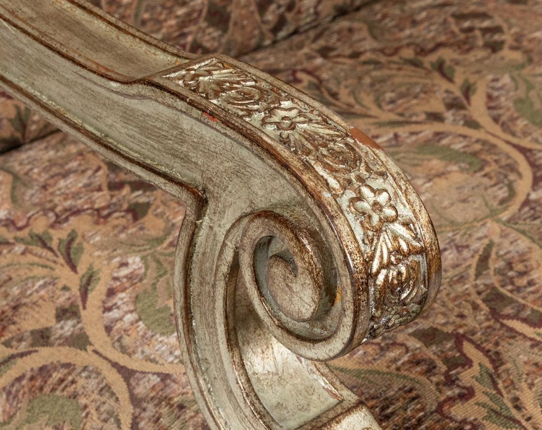 Silver Leaf Arm Chair - 3