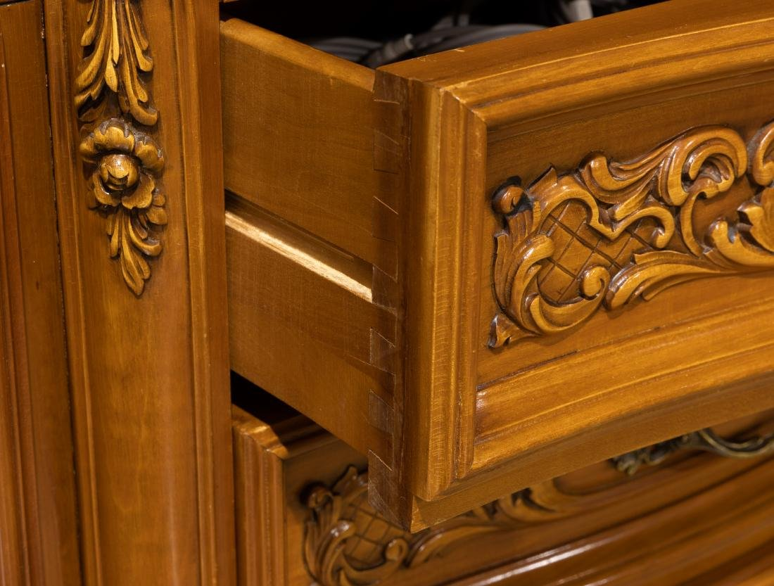 French Marble Top Sideboard - 4
